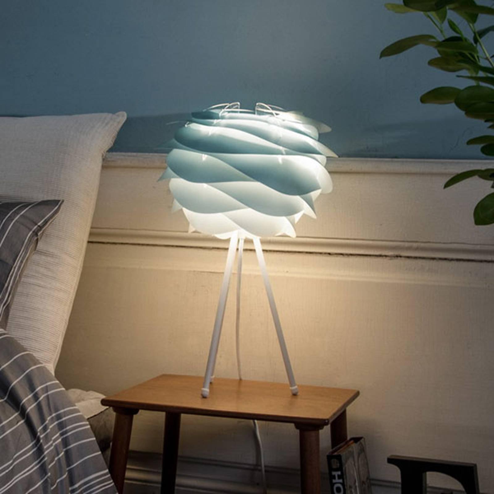 UMAGE Carmina Mini bordlampe, blå/hvit