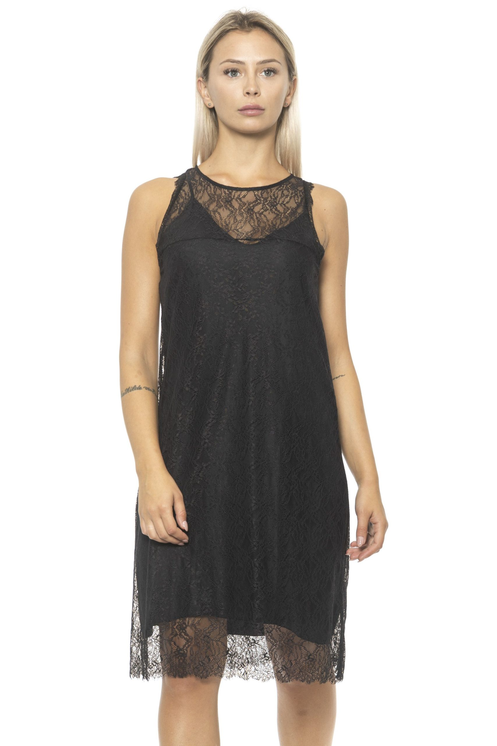 Alpha Studio Women's Nero Dress Black AL1314629 - IT42 | S