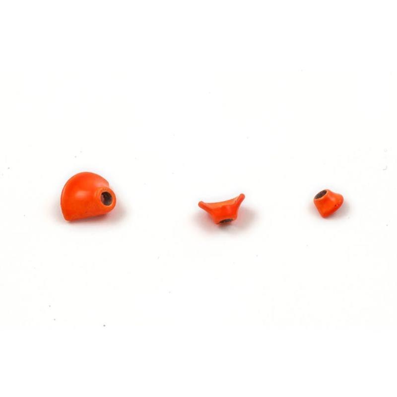 FITS 1/2 Turbo Cones Fl. Orange XS Frödin Flies