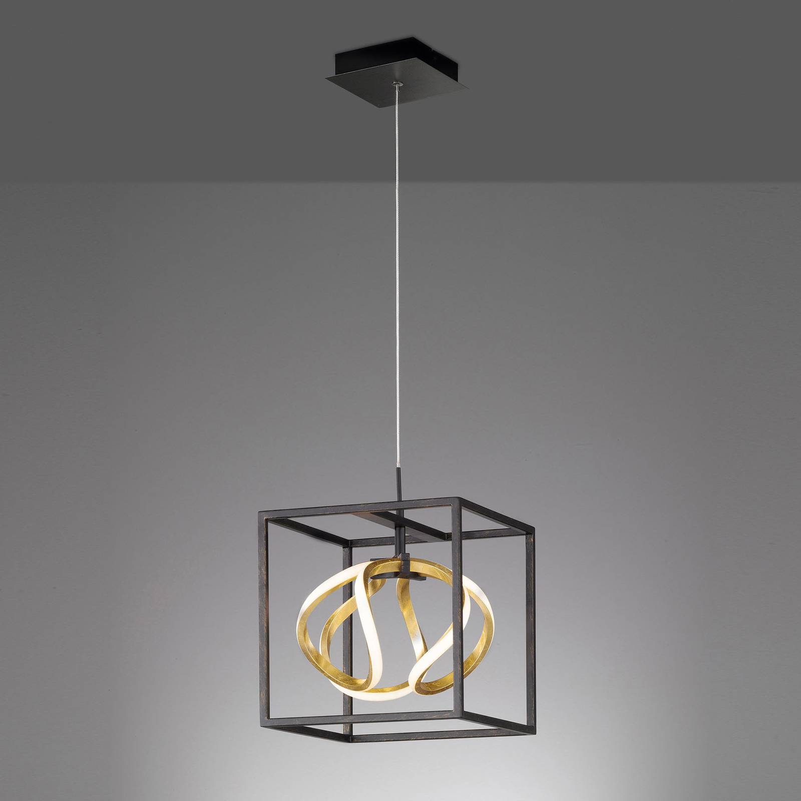 LED-riippuvalaisin Gesa, yksilamppuinen