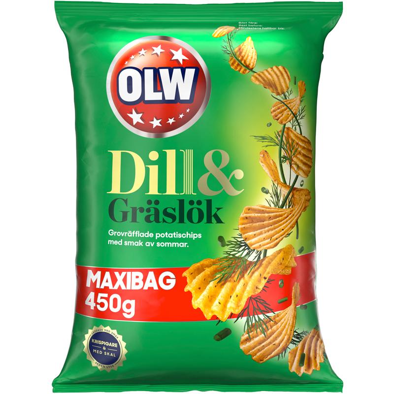 Chips Dill & Gräslök Maxibag - 32% rabatt