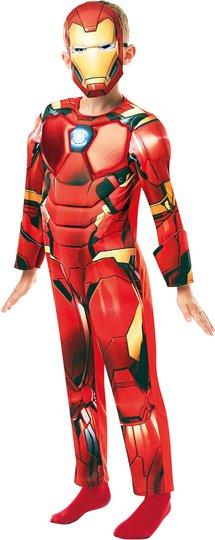 Marvel Avengers Kostyme Iron Man 3-4 år