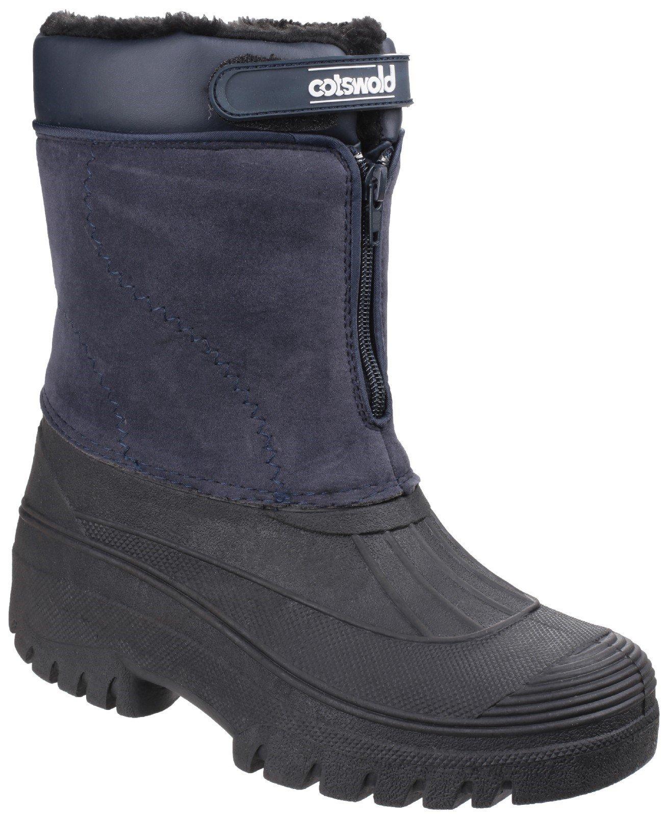Cotswold Women's Venture Waterproof Winter Boot Various Colours 16569 - Navy 3