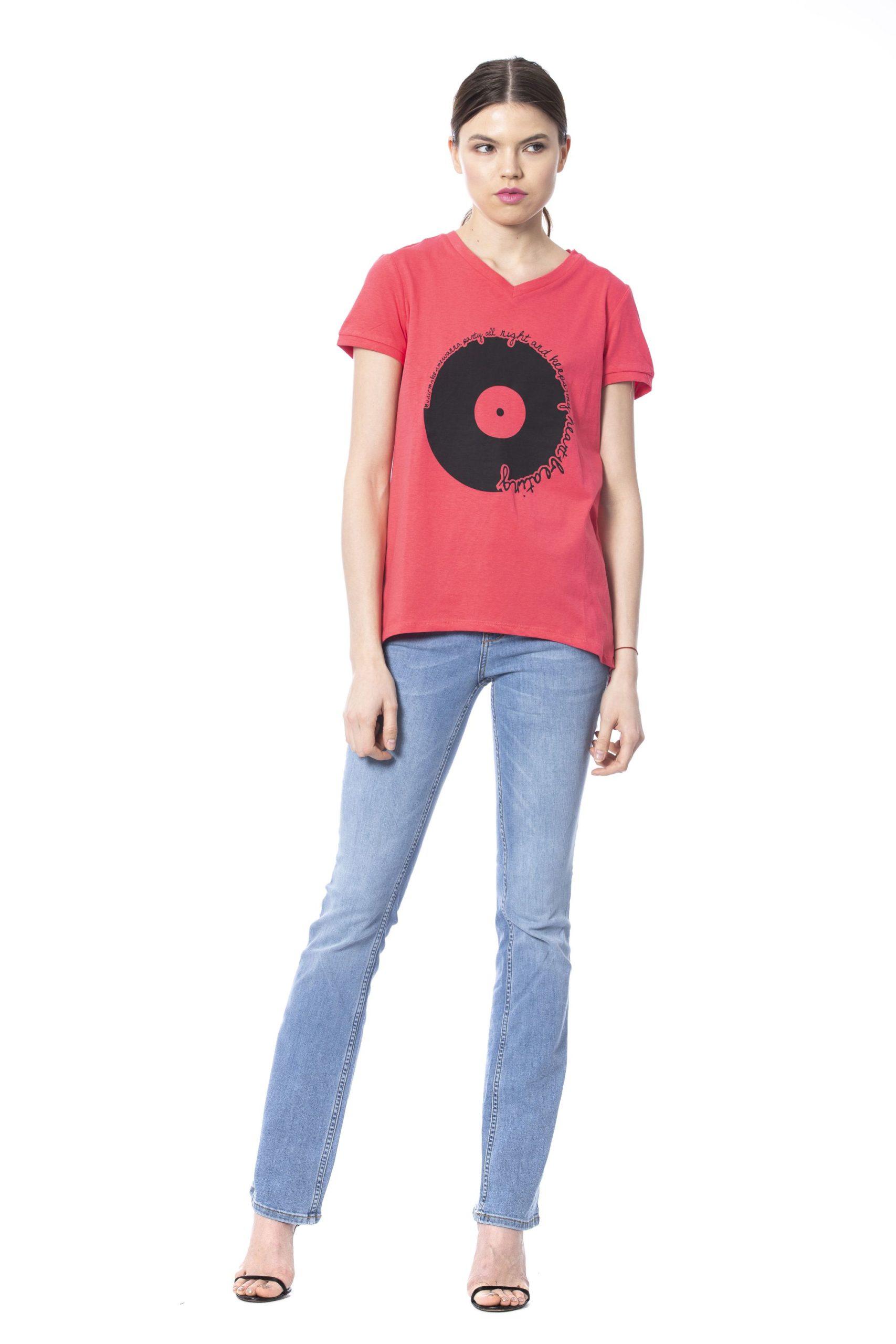 Silvian Heach Women's T-Shirt Pink SI1261288 - S