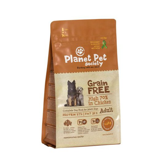 Planet Pet Society Grain Free Chicken (12 kg)