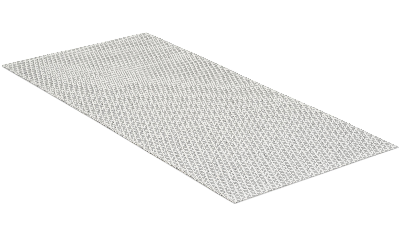 Sigyn grå - plastteppe