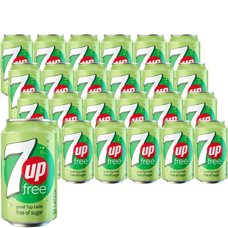 7up Free 24-pack - 20% rabatt