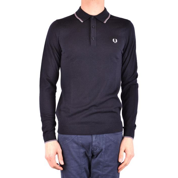 Fred Perry Men's Polo Shirt Blue 161371 - blue S