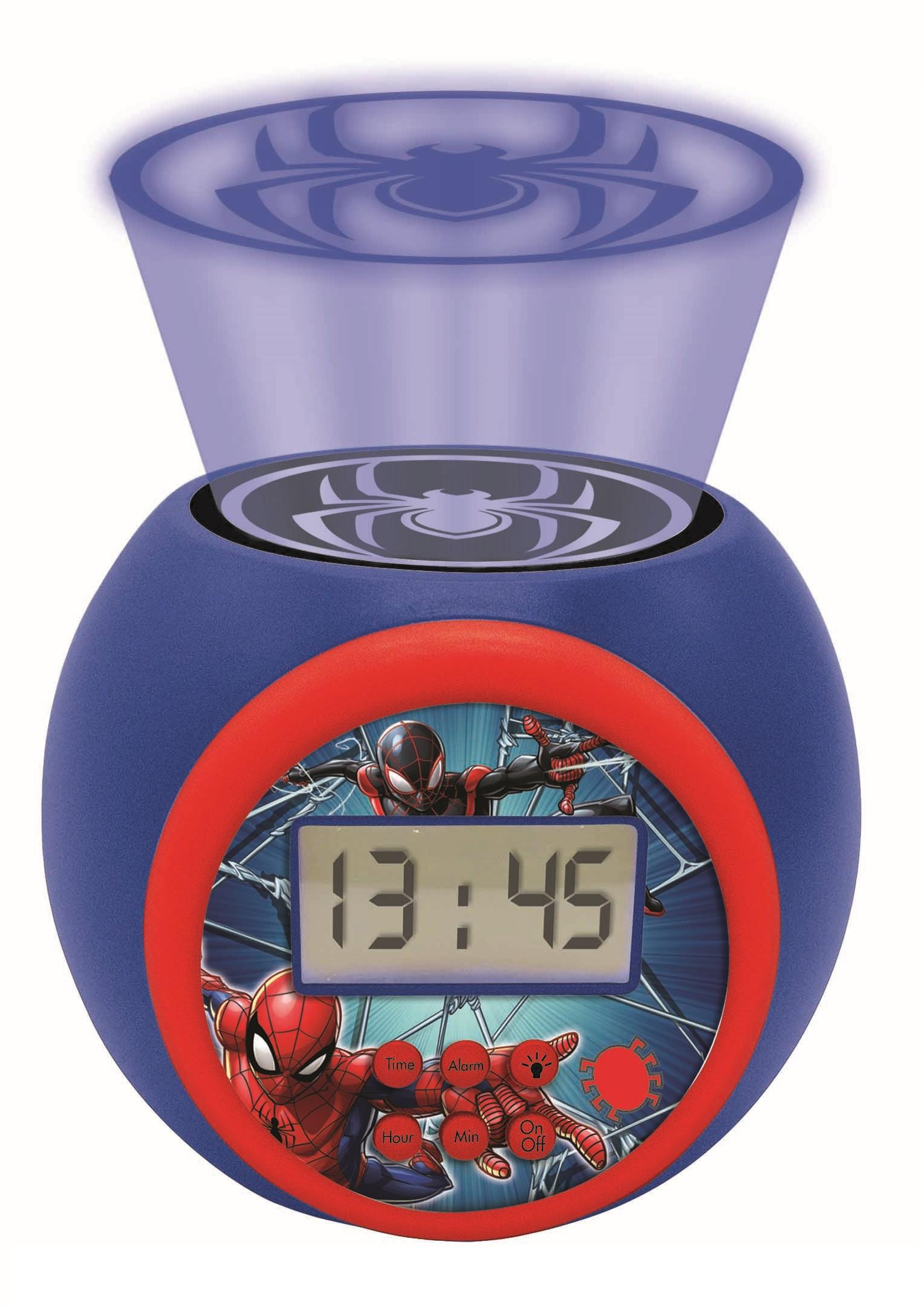 Lexibook - Spider-Man Projector Alarm Clock with Timer (RL977SP)