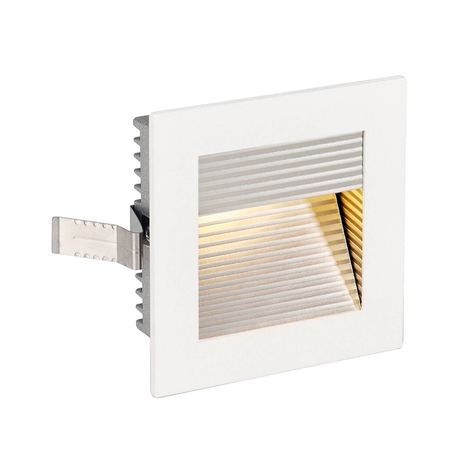SLV LED-downlight Frame Curve LED 3 000 K, hvit