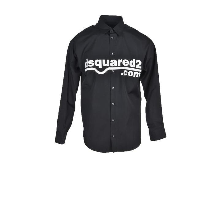 Dsquared - Dsquared Men Shirt - black 48