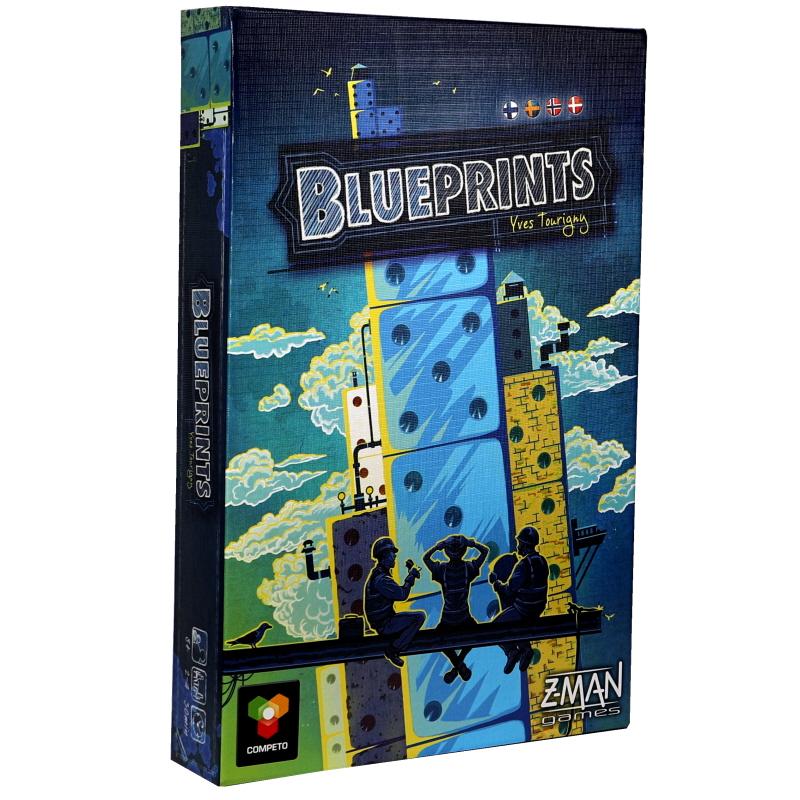 Blueprints Pilvenpiirtäjät, lautapeli - 67% alennus