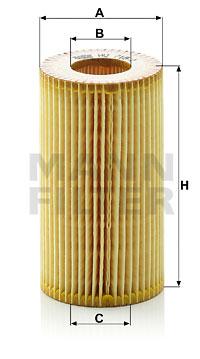 Öljynsuodatin MANN-FILTER HU 718/1 y
