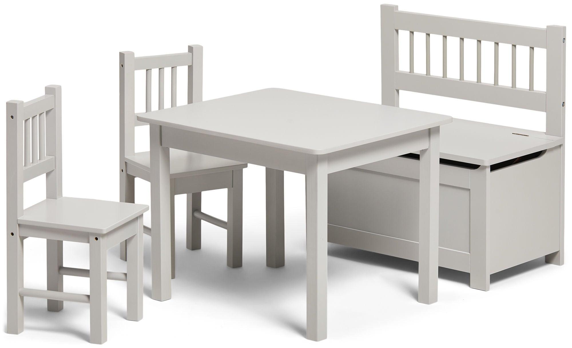 Alice & Fox Pöytä, Tuolit ja Penkki, Grey