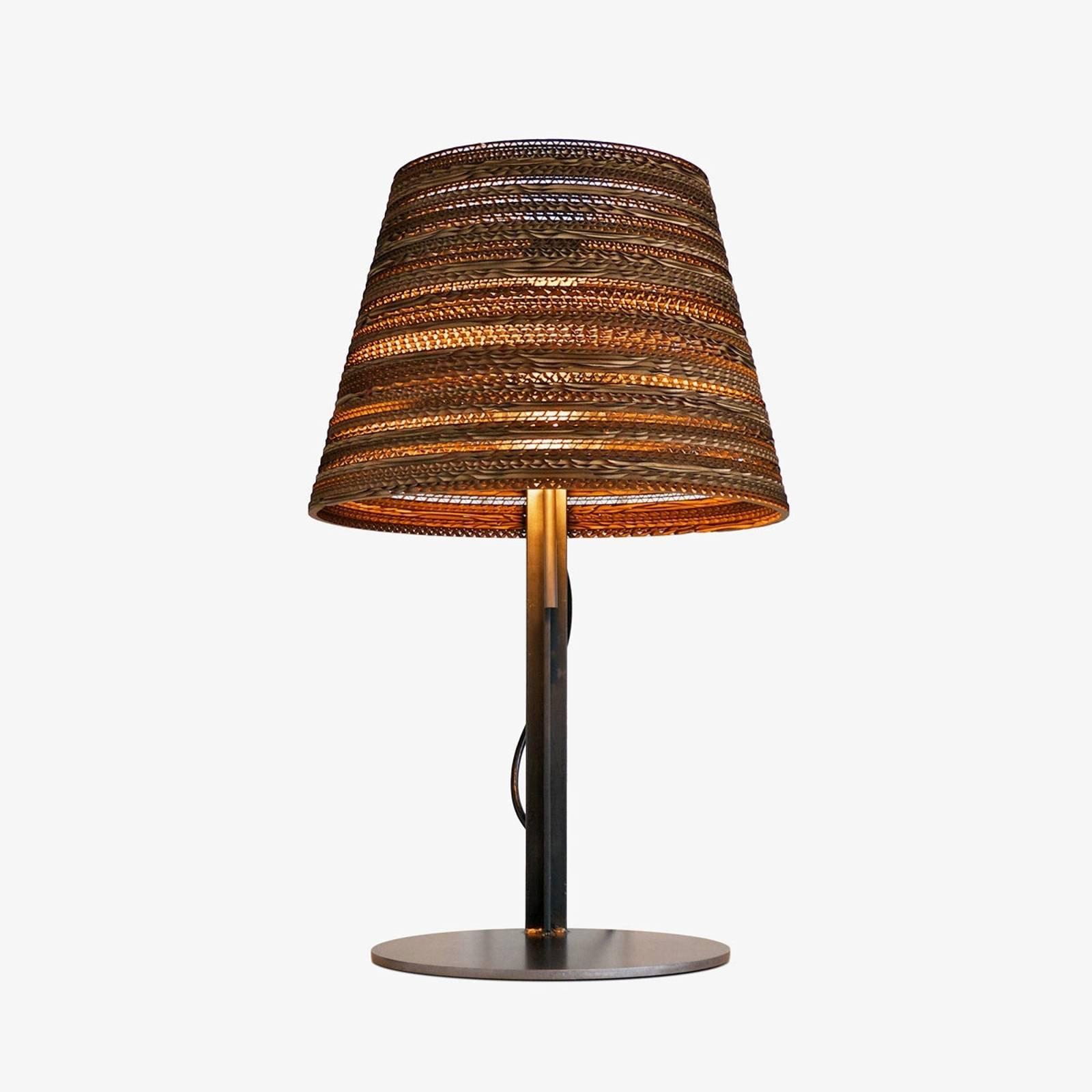 Bordlampe Tilt av kartong, miljøvennlig.