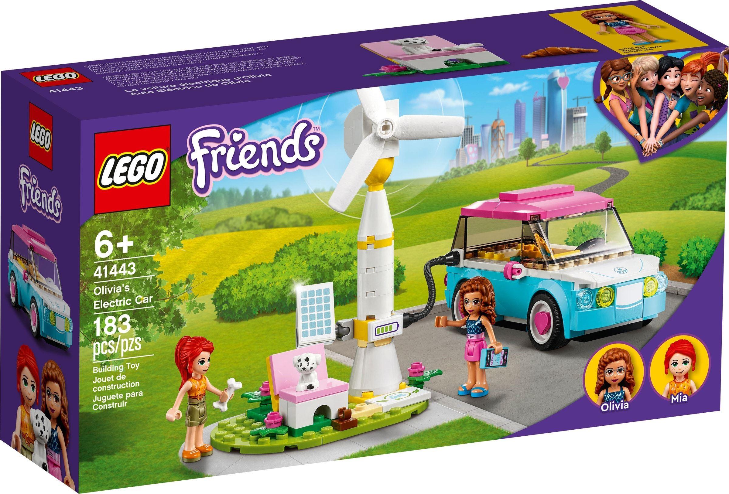 LEGO Friends - Olivia's Electric Car (41443)