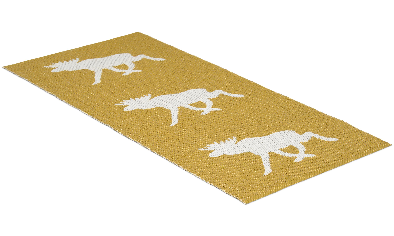 Moose sennepsgul - plastteppe