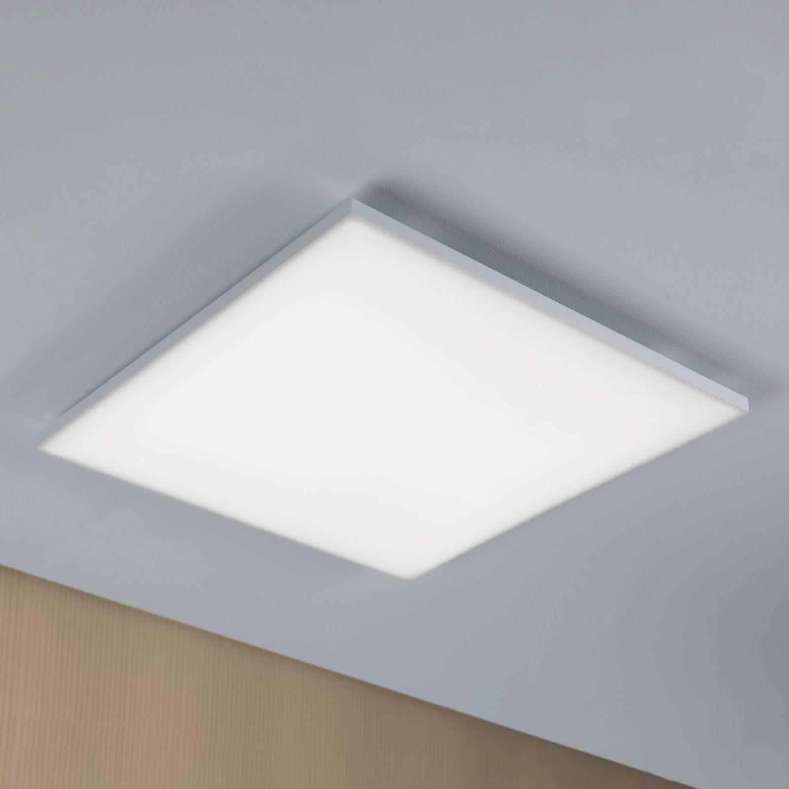 Paulmann Velora -LED-kattovalaisin 59,5 x 59,5 cm
