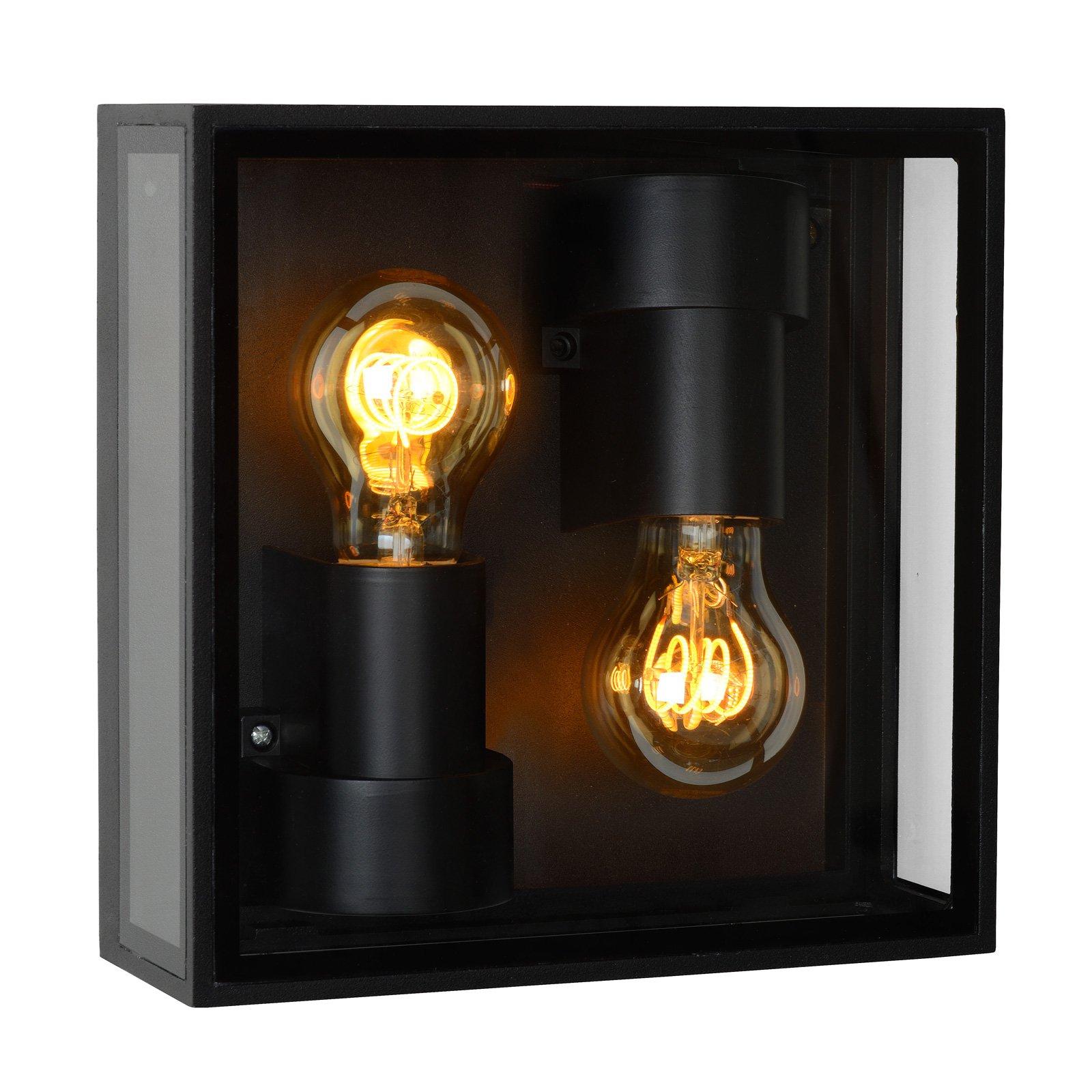 Dukan utendørs taklampe IP65, 2 lyskilder