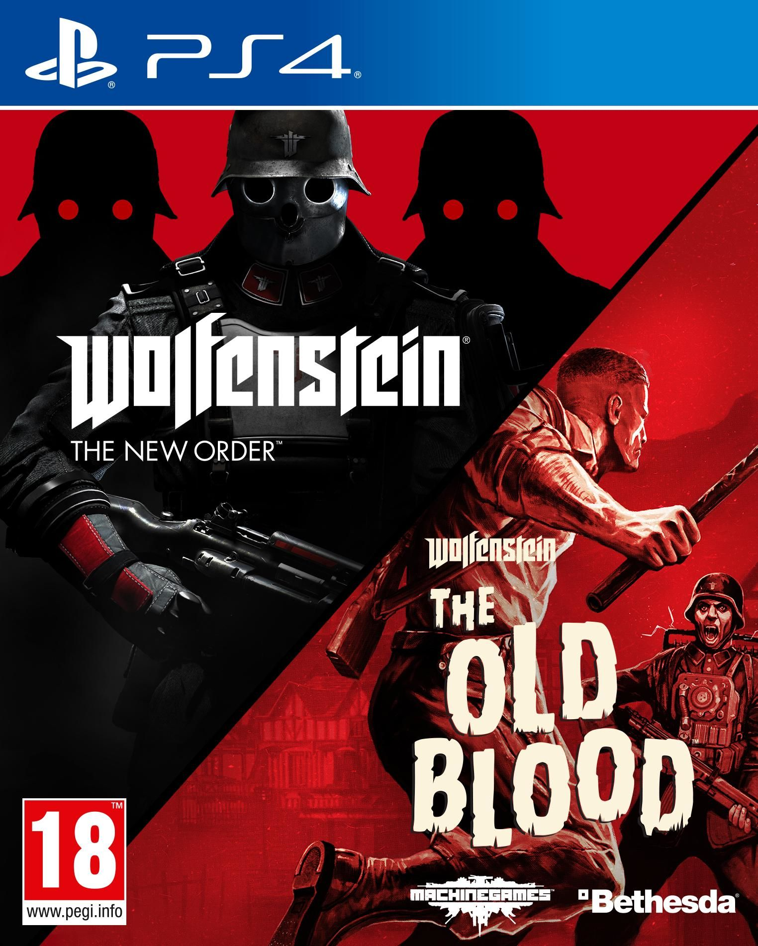 Wolfenstein Double Pack - The New Order and The Old Blood (AUS)