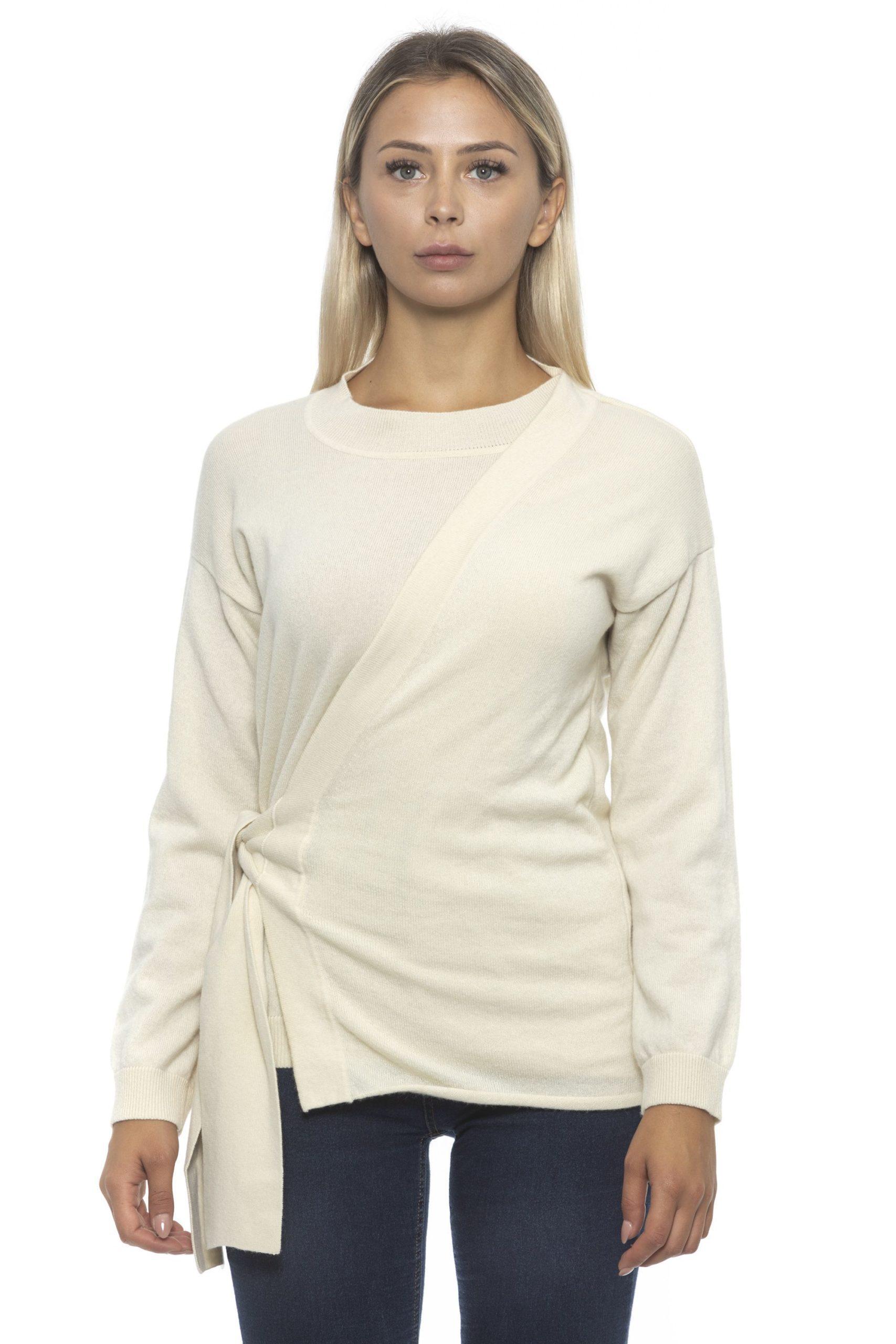 Alpha Studio Women's Panna Sweater Beige AL1192498 - IT42   S