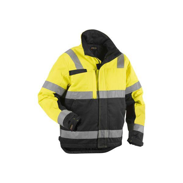 Blåkläder 486218113399S Varseljacka varselgul/svart, vinter Stl S