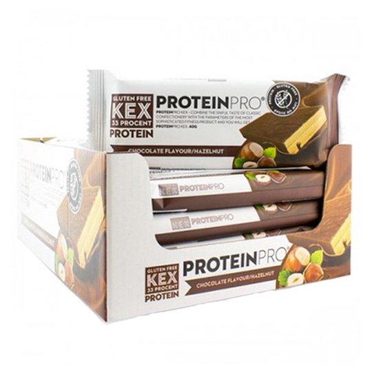 """Hel Låda Proteinkex """"Chocolate & Hazelnut"""" 20 x 40g - 50% rabatt"""