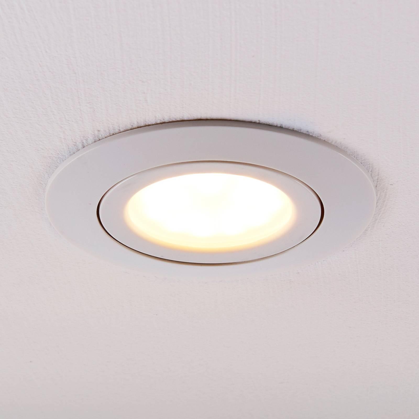 LED-kohdevalaisin Andrej, pyöreä, valkoinen