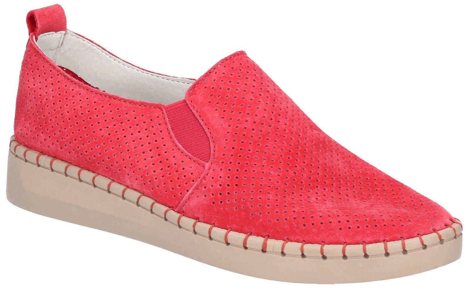 Fleet & Foster Women's Tulip Slip On Shoe Blue 28262-47470 - Red 6
