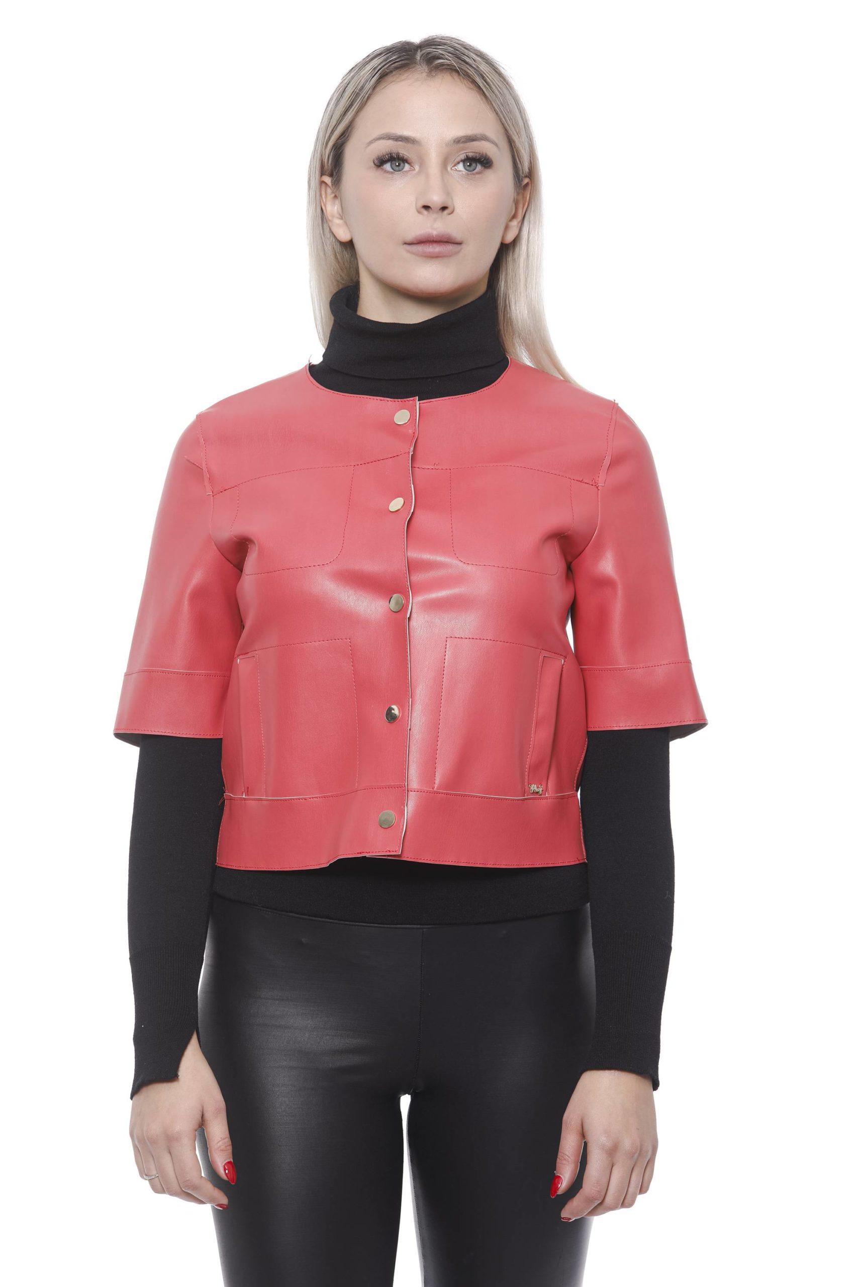 19V69 Italia Women's Rosa Jacket Pink 191388448 - M