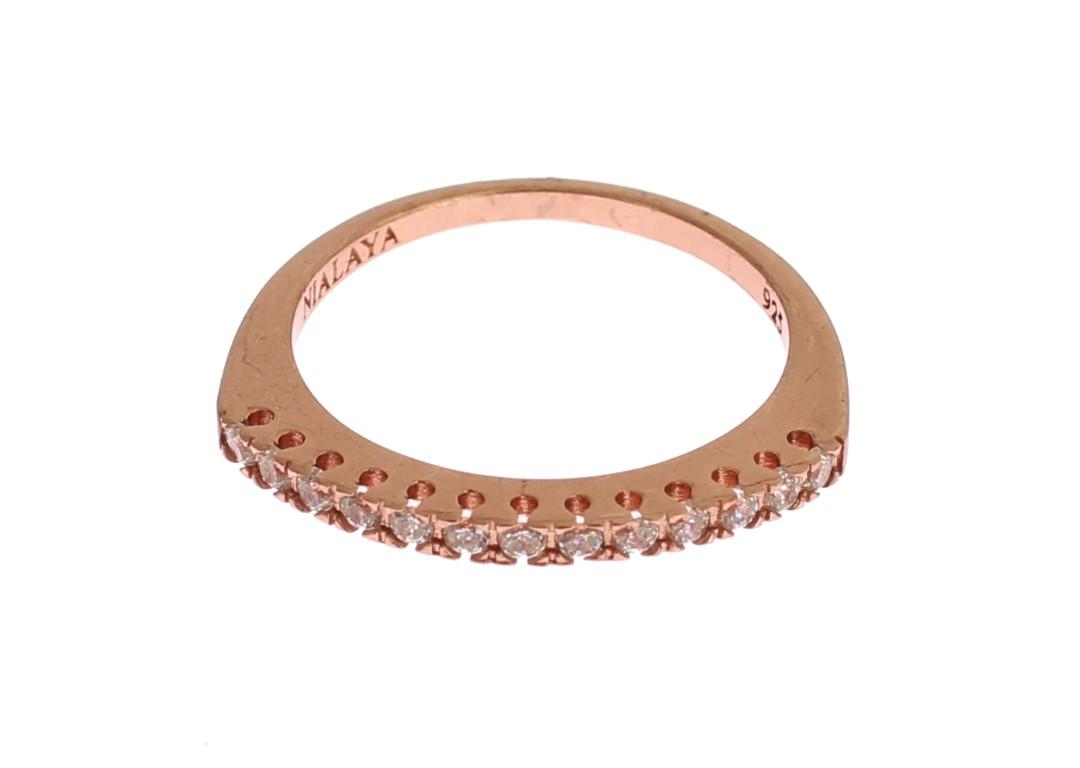 Nialaya Women's 925 Silver Ring Gold SIG19069 - EU52   US6
