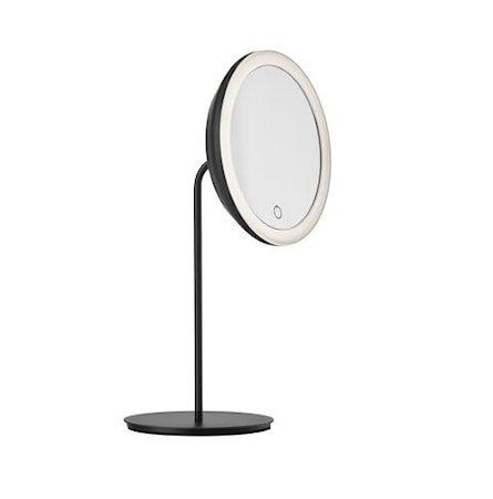 Bordspeil Black 5 x forstørrelse og lys