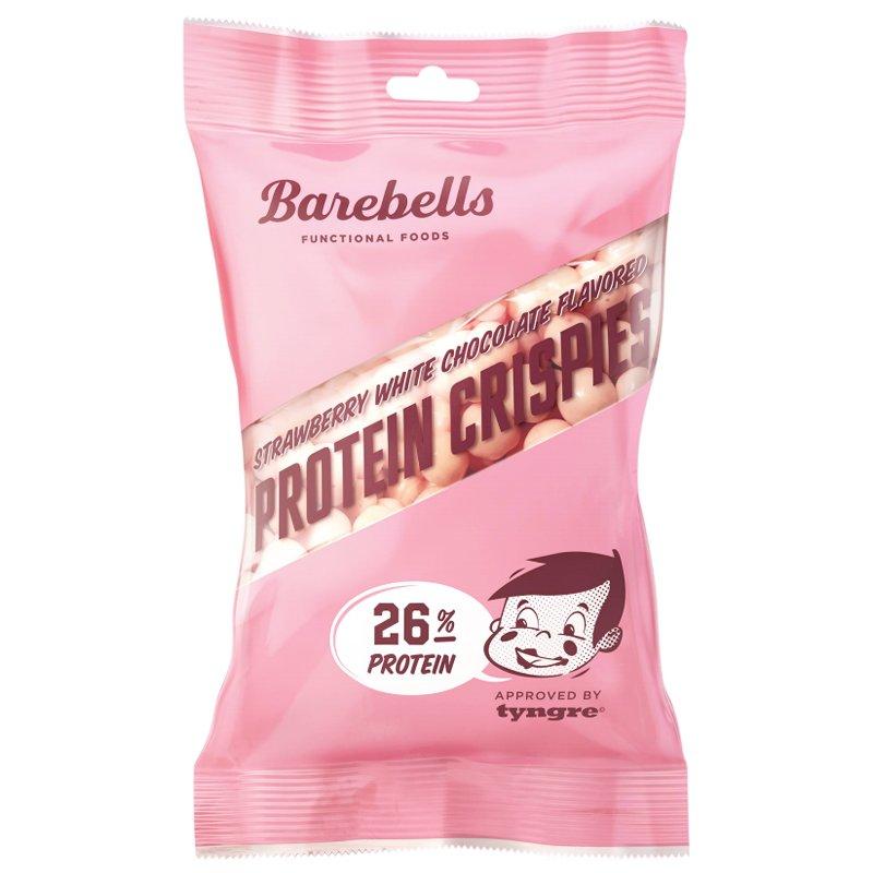 """Proteinkrisp """"Strawberry White Chocolate"""" 50g - 40% rabatt"""