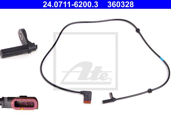 ABS-anturi ATE 24.0711-6200.3