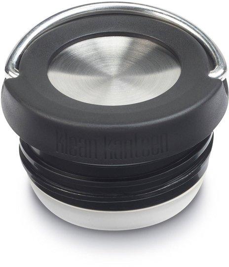 Klean Kanteen Loop Cap TKWide, Black/Brushed Stainless