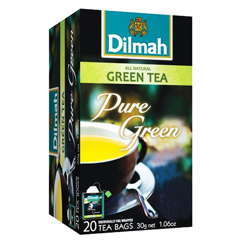 Vihreä tee 20 kpl - 50% alennus