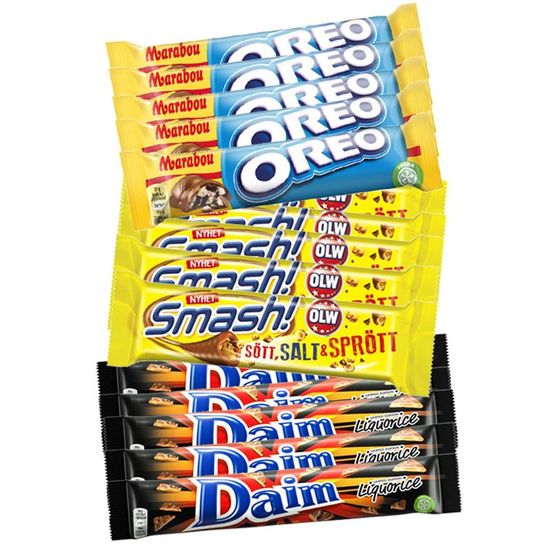 Stora Chokladpaketet - 66% rabatt
