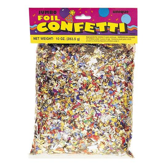Konfetti Metallic i Påse
