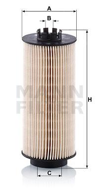 Polttoainesuodatin MANN-FILTER PU 10 022 z
