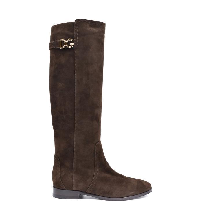 Dolce & Gabbana Women's Boots Brown 233231 - brown 37