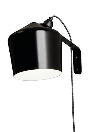 Vägglampa Pasila - Svart