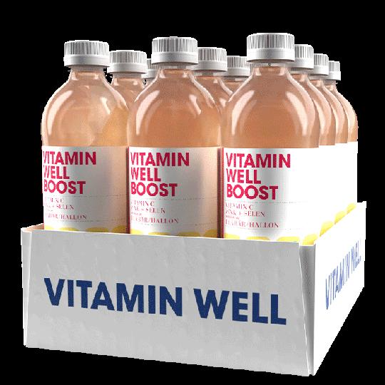 12 x Vitamin Well, 500ml