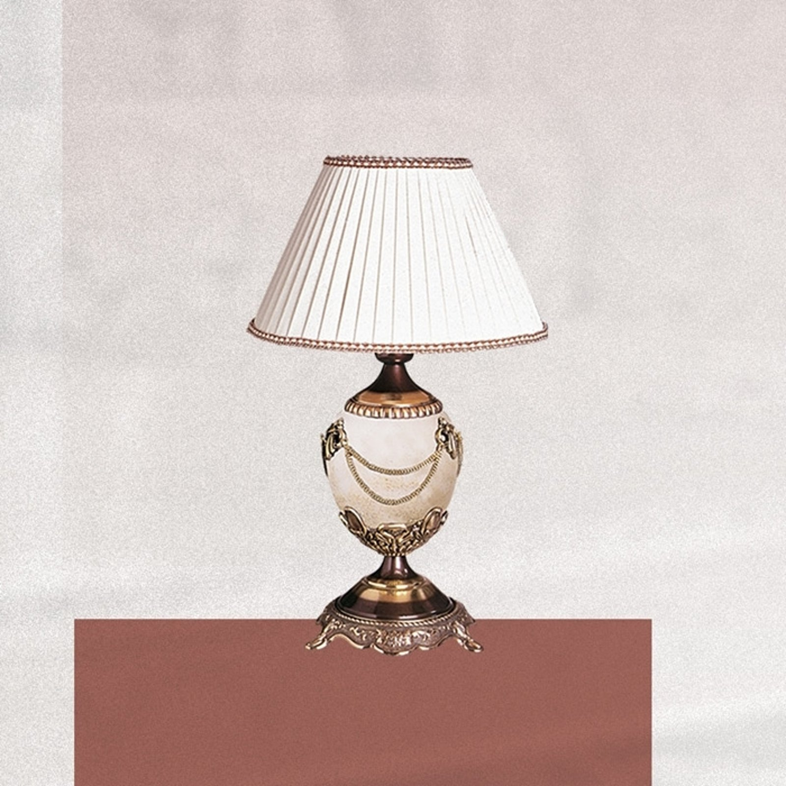 Svært dekorativ bordlampe PRESTIGE 47 cm