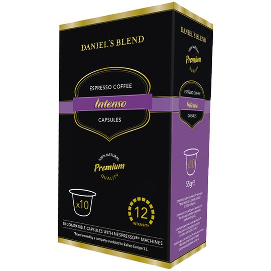 "Kaffekapslar Nespresso ""Intenso"" 10st - 48% rabatt"