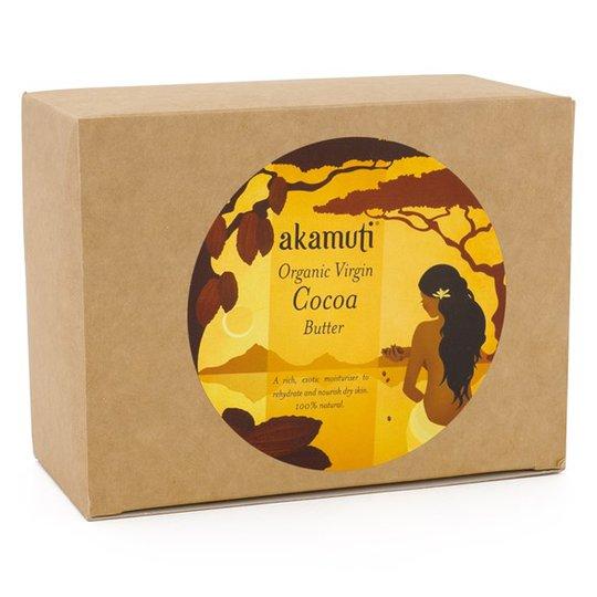 Akamuti Organic Virgin Cocoa Butter, 240 g
