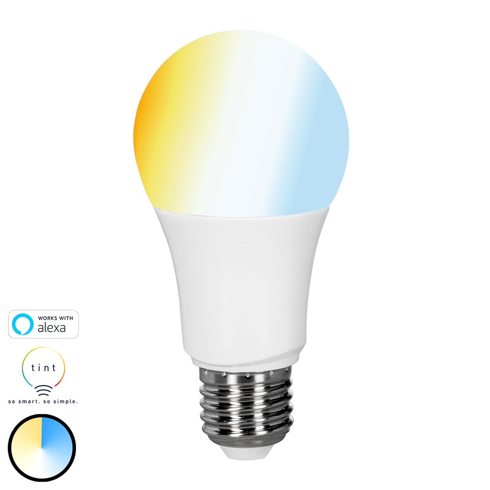 Müller Licht tint white -LED-lamppu E27 9W, CCT