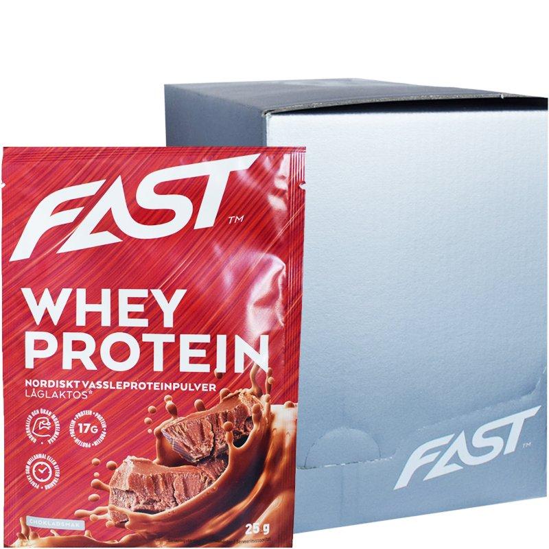 Laatikollinen Proteiinijauhepusseja Suklaa 20 x 25g - 50% alennus