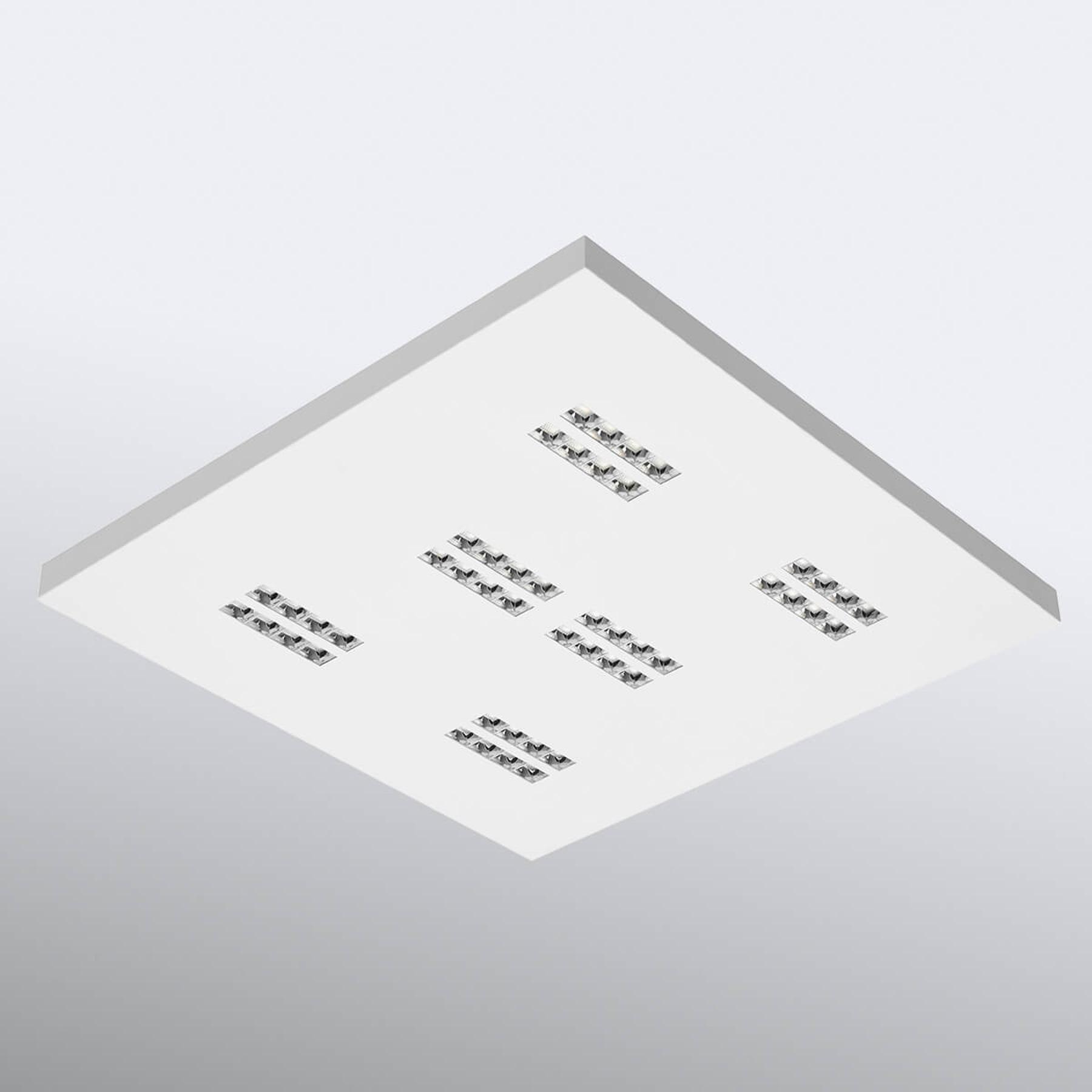 LED-kattovalaisin Declan II SS1 neliö, 3 000 K