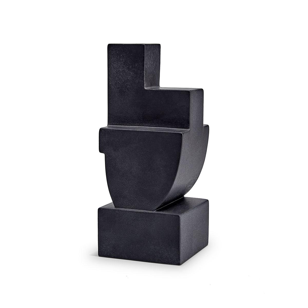 L'Objet I Cubisme Bookend Black