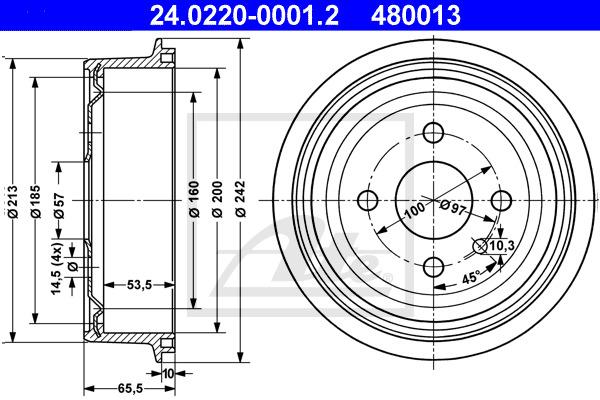 Jarrurumpu ATE 24.0220-0001.2